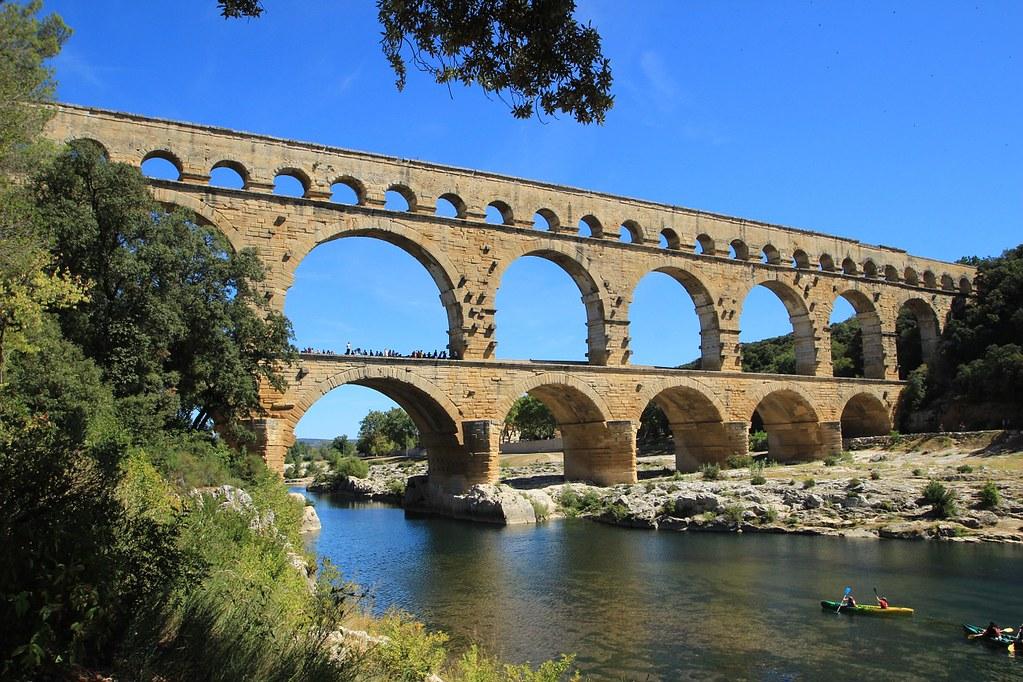 Pont du Gard à Nîmes